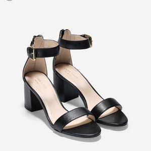 NIB Cole Haan Clarette Black Sandal